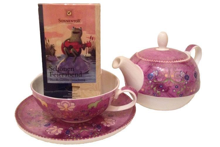 Geschenk Set Sari Schöner Feierabend Tee