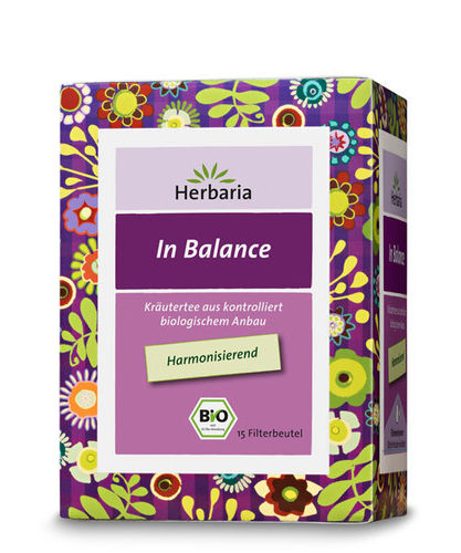 Well-Being In Balance Bio Kräuterteemischung Herbaria 15 Btl.