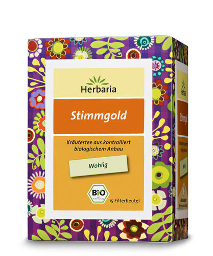 Well-Being Stimmgold Bio Kräuterteemischung Herbaria 15 Btl.