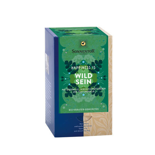Happiness is® Wild Sein kbA - Sonnentor 18 Beutel
